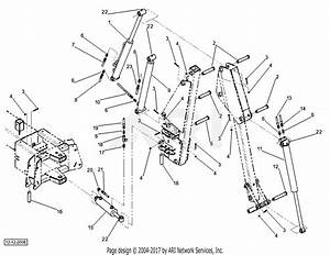 Dr Power Dr Backhoe Ser  Bho000001 Parts Diagram For Cylinders    Hoses