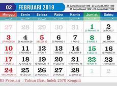 Kalender Februari 2019 Cetak Kalender 2019 harga Murah