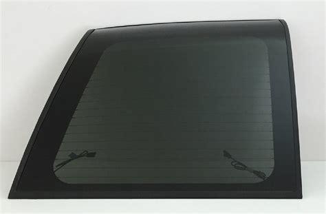 rear  window glass driver side gmc yukon denali  door