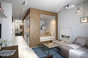 50 small studio apartment design ideas 2019 modern With small studio apartment interior design