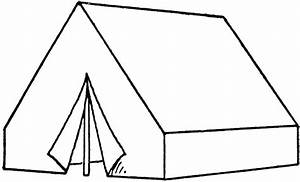Tent Clip Art Black And White | Clipart Panda - Free ...