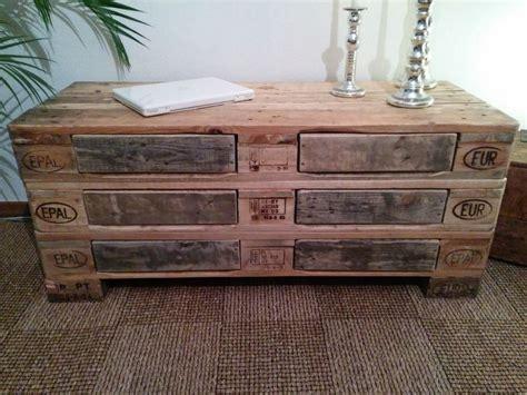 kommode aus paletten palettenm 246 bel sideboard kommode woody paletten