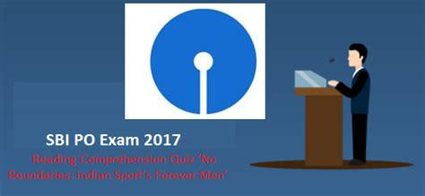 Online Reading Comprehension Quiz For Sbi Po Exam 2017