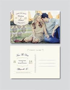 Save the date postcard template 25 free psd vector eps ai format download free premium for Psd postcard template