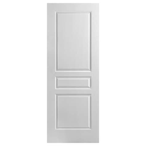 panel interior slab door    white rona