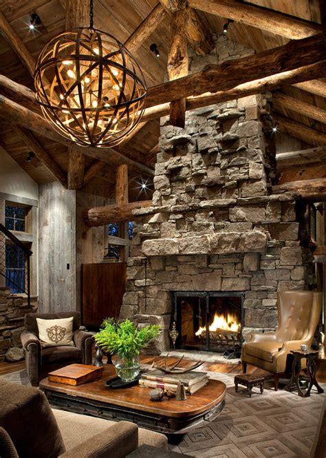 faux fur area rustic ski lodge home bunch interior design ideas