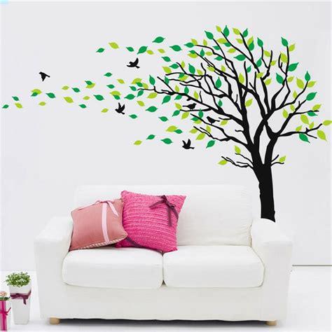 peinture cuisine meuble blanc le pochoir mural 35 idées créatives pour l 39 intérieur