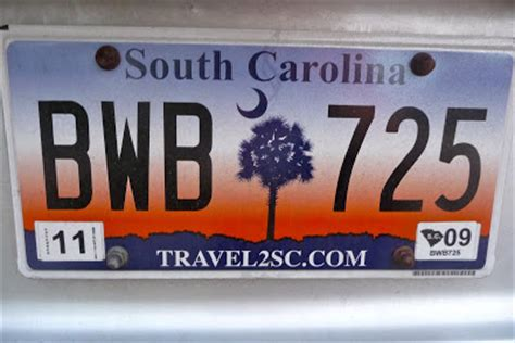 Vanity Plates Sc by Fifty States Of Mind South Carolina License Plate