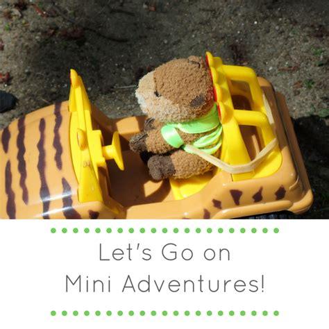 Lets Go On Mini Adventures Green Acorns
