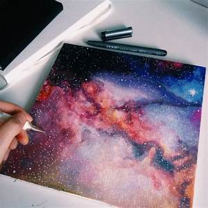 25+ best ideas about Galaxy painting on Pinterest | Galaxy ...