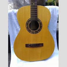 Eko Acoustic Guitar  Made In Recanati, Italy  Studio Model  1960s70s  Some Damage On The