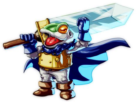 Agdq2014 Chrono Trigger Frog By Koyote974 On Deviantart