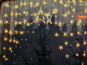 Lichtervorhang Innen Fenster : lichtervorhang led sterne stern weihnachten lichterkette beleuchtet fenster deko ebay ~ Orissabook.com Haus und Dekorationen