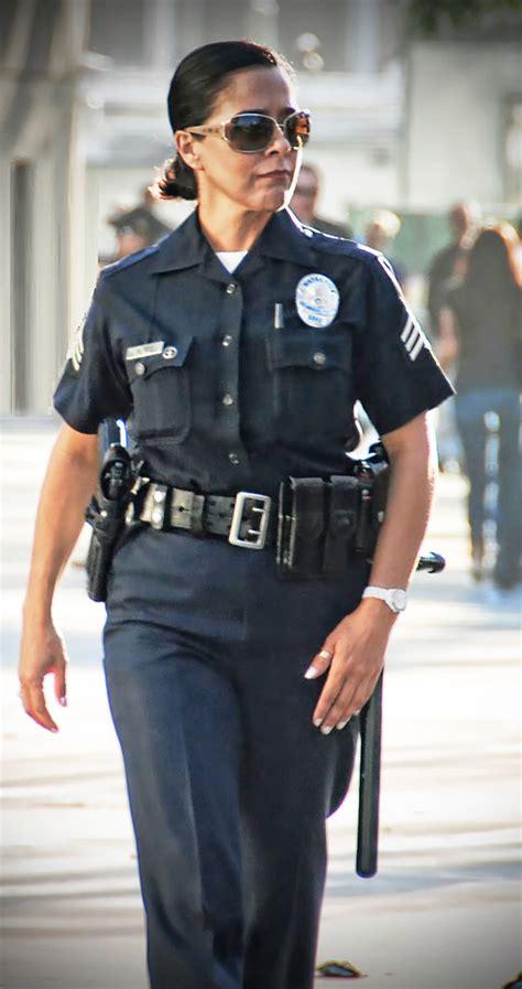 lapd officer walking  beat wwwvestforlifecom