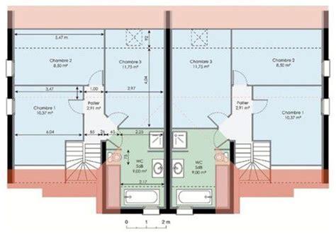 plans maison plain pied 4 chambres maison dé du plan de maison faire