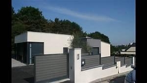 Muret De Cloture : am nagement complet autour d 39 une maison d 39 architecte cour ~ Melissatoandfro.com Idées de Décoration