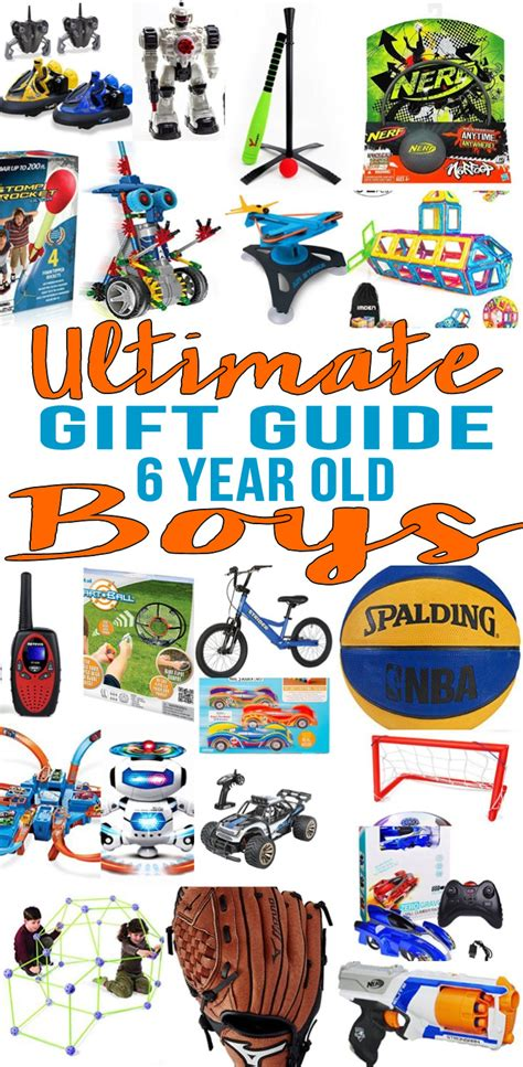 6 year old christmas ideas top 6 year boys gift ideas gift guides gifts for boys 6 year