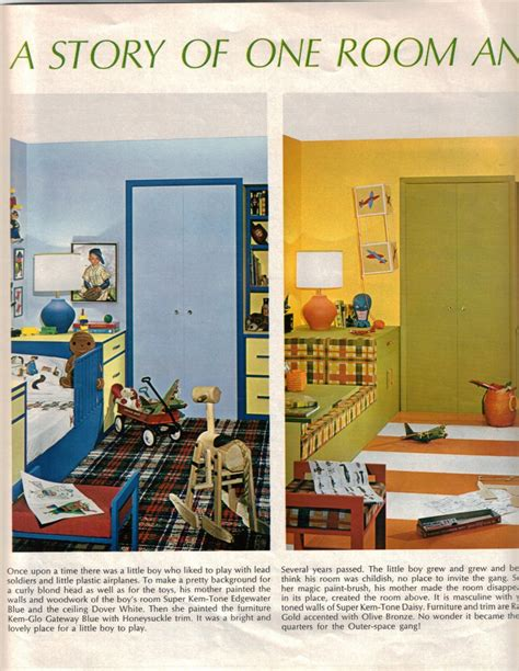 Good Colors For Living Room by 10 Color Schemes From 1968 Retro Renovation