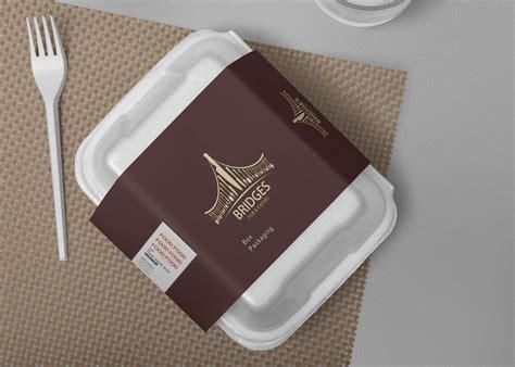 pasta box label design mockup psd mockup  mockup