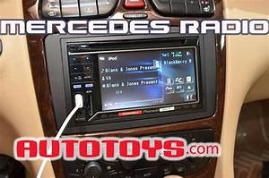 How To Remove Mercedes Ml320 Stereo