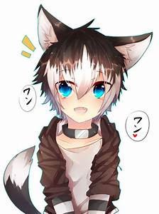 small wolf boy with brown hair | List of pins | Pinterest ...