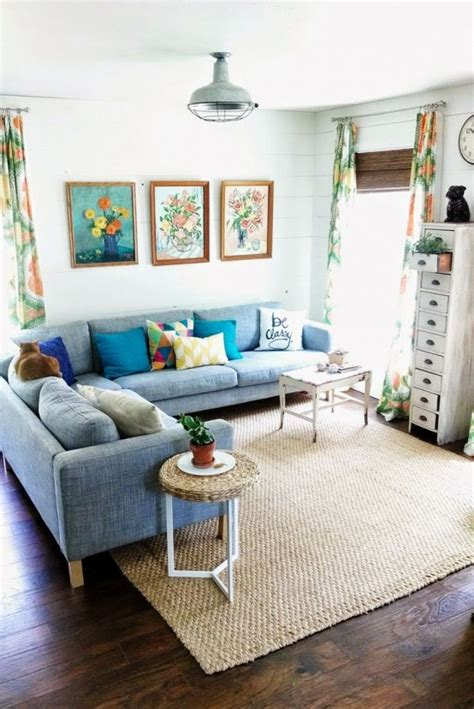 cheerful summer living room decor ideas digsdigs