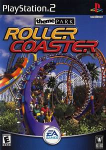 Theme Park Roller Coaster Box Shot For PlayStation 2
