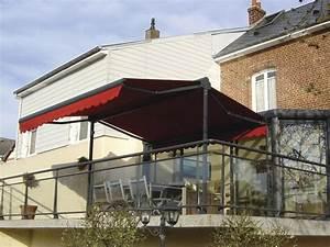 Store Pour Terrasse : store banne double pente pour terrasse ou jardin b1chezsoi ~ Premium-room.com Idées de Décoration