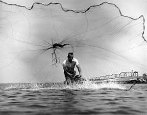 Tom Garrison throws a cast net | Way Down South....Far ...