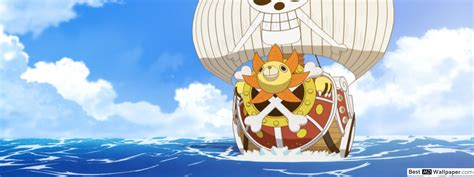 Thousand Sunny,pirate Ship Hd Wallpaper Download