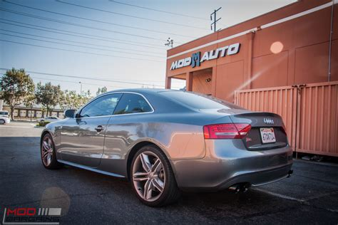 V8 Audi S5 Gets Awe Tuning Exhaust At Modauto