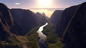 Beautiful Valley With River HD Wallpaper, Background Image ...