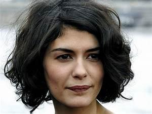 Coupe Carré Visage Rond : coiffures audrey tautou visage rond coiffure comemnt ~ Melissatoandfro.com Idées de Décoration