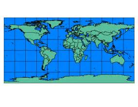 World Map Prime Meridian and Equator