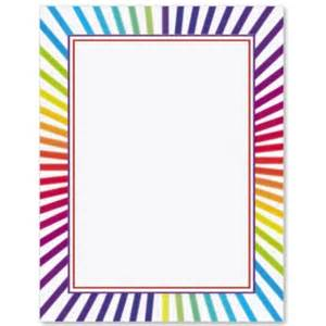 programs for weddings templates candy stripes border papers paperdirect
