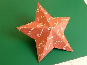 Star Templates Making Christmas Decorations Easy 3d Stars Baubles And