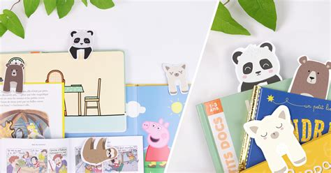 marque page animaux diy marque pages animaux printable