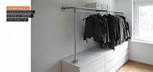 Schränke Für Ankleidezimmer : begehbarer kleiderschrank kleiderstange auf sideboard kleiderschrank pinterest ~ Sanjose-hotels-ca.com Haus und Dekorationen