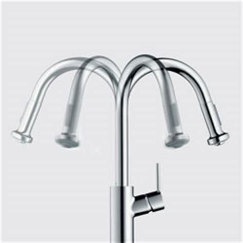 Hansgrohe 04076860 Allegro E Single Handle Pull Out