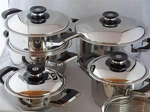 Amc Töpfe Set : amc set pentole 12 pezzi secuquick acciaio inox da cucina arondo ebay ~ Eleganceandgraceweddings.com Haus und Dekorationen