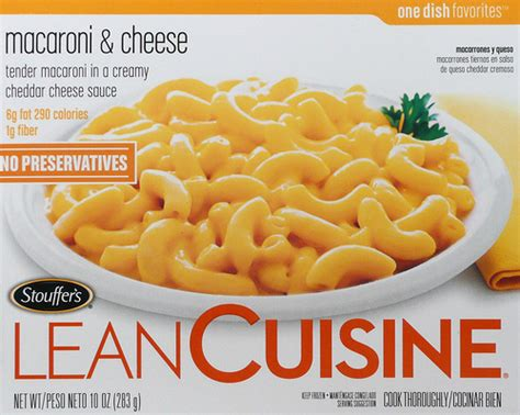 lea cuisine lean cuisine food in