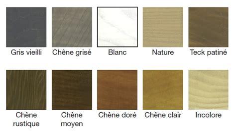 couleur lasure bois exterieur lasure bois optem mat de blanchon 1 litre