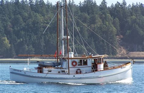 Troller Boat by 1928 Converted Salmon Troller Power Boat For Sale Www