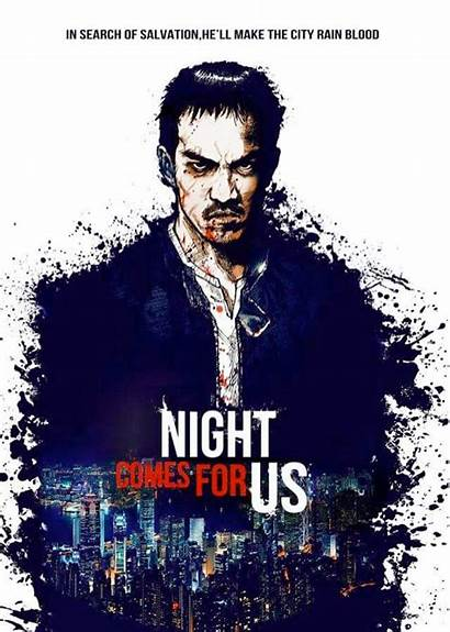 Comes Night Film Action Indonesian Poster Trailer