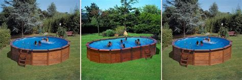 prix piscine en bois semi enterree prix piscine bois semi enterr 233 e kit