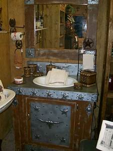 23 best images about cowboy western bathroom on pinterest for Western style bathrooms