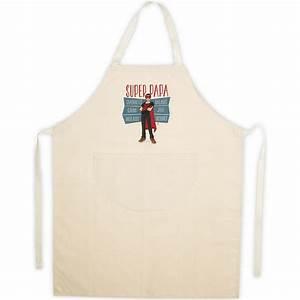 Tablier De Cuisine Homme : tablier de cuisine homme beige en coton super papa ~ Melissatoandfro.com Idées de Décoration