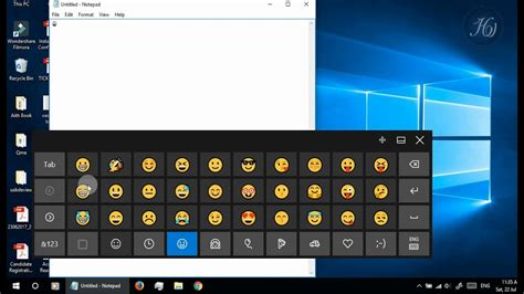 How To Use Emoji In Windows 10, 8 Or 8.1