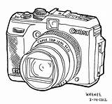 Tumblr Drawings Camera Drawing Digital Line Considering Buying Going sketch template