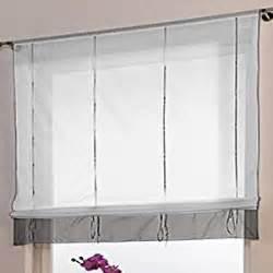 raffgardinen wohnzimmer de souarts stickblume gardine raffgardinen vorhang raffrollo deko für wohnzimmer